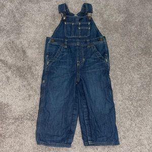 NEW Baby Gap denim overalls 18-24 months boys